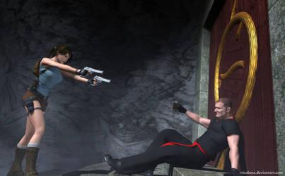 Lara Croft 93 by Nicobass
