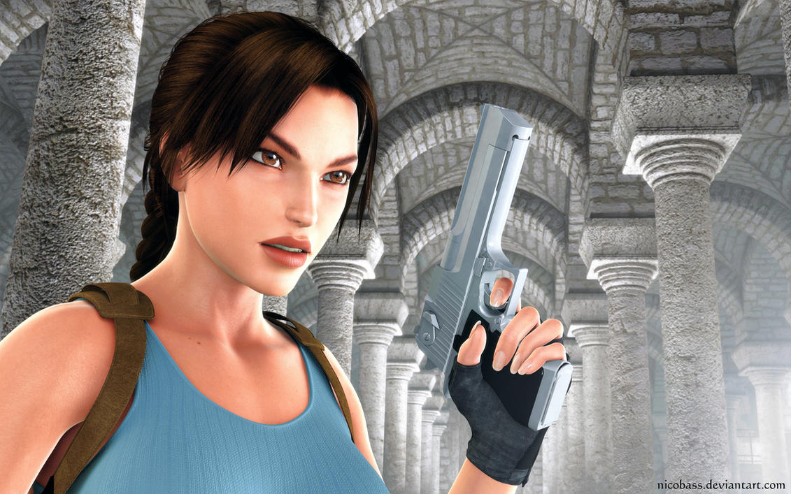 Lara Croft 95 by Nicobass