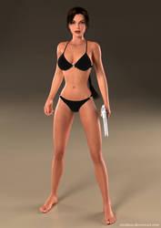 Lara Croft 99 by Nicobass