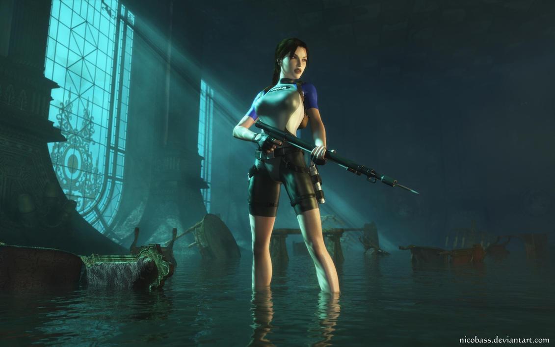 Lara Croft 100 by Nicobass