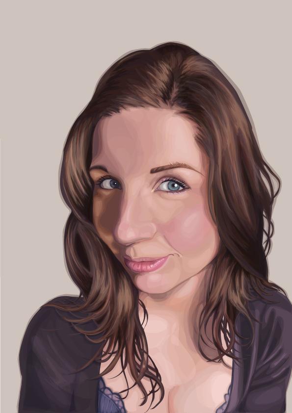 Self portrait 2010 by frozennova