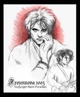 Robert Smith by frozennova