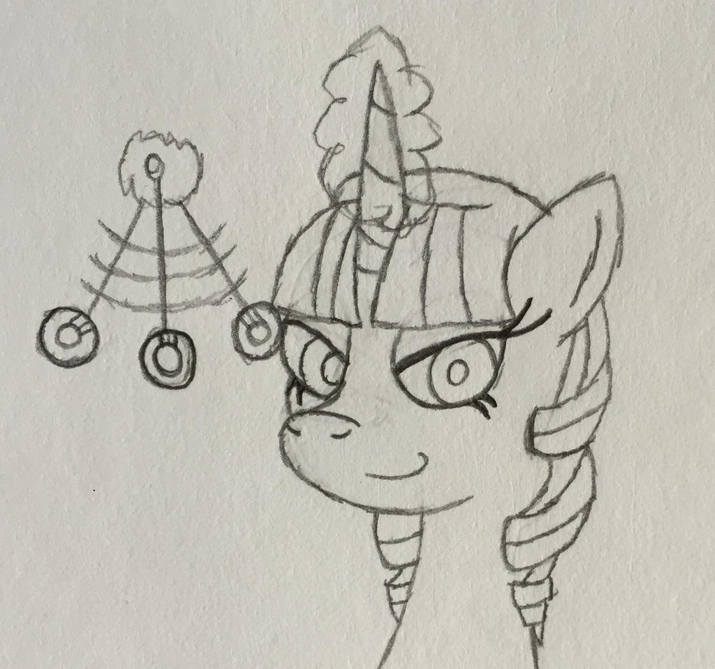 MLP Hypno Group Icon Mascot Sketch by LunaHazACookie