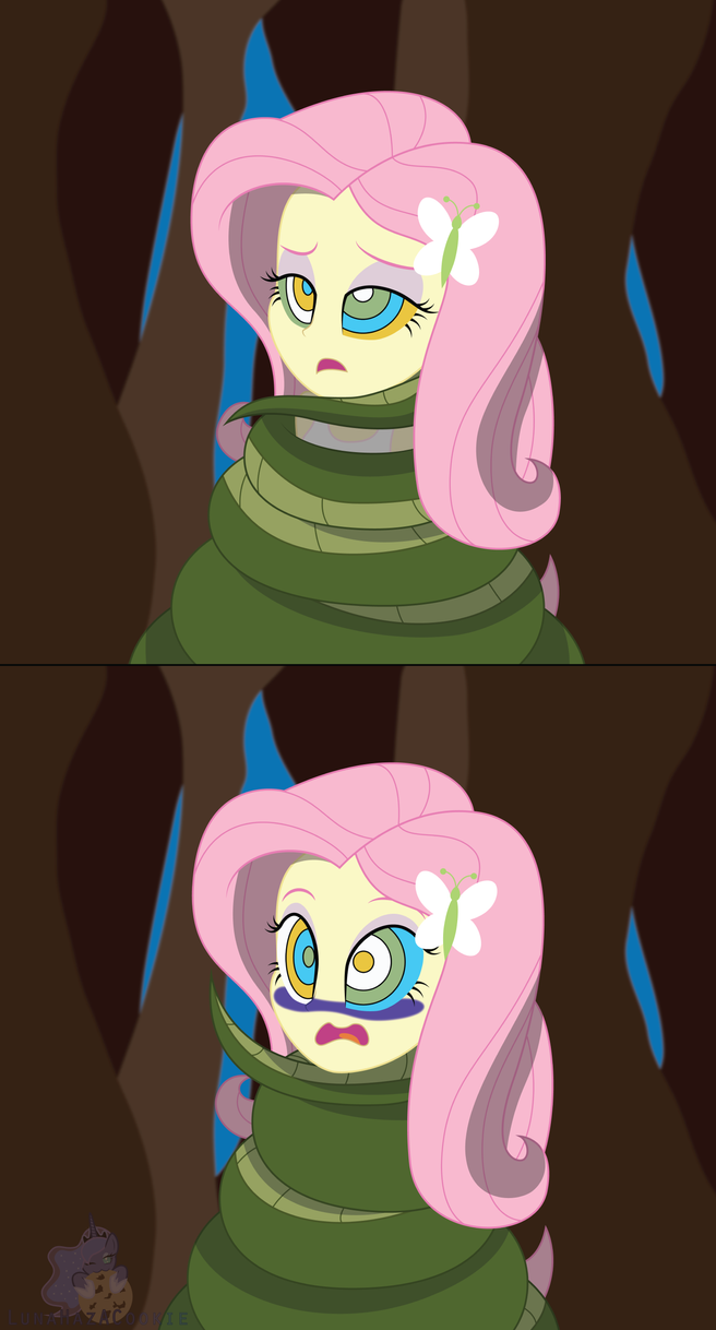 Fluttershy's Encounter by LunaHazACookie