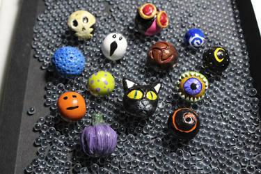 Harvest Festival Beads by Cribbitcat