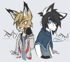 Ray and Aera by ReeZe0x