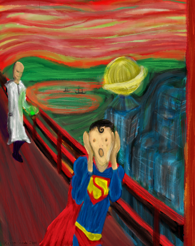 The Scream of Superman