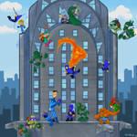Fantastic Four Mutant Ninja Turtles