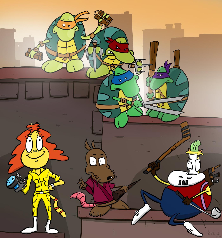 Teenage Mutant Ninja Turtles' Modern Life?