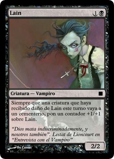 Lain Magic Card by SirArthur87