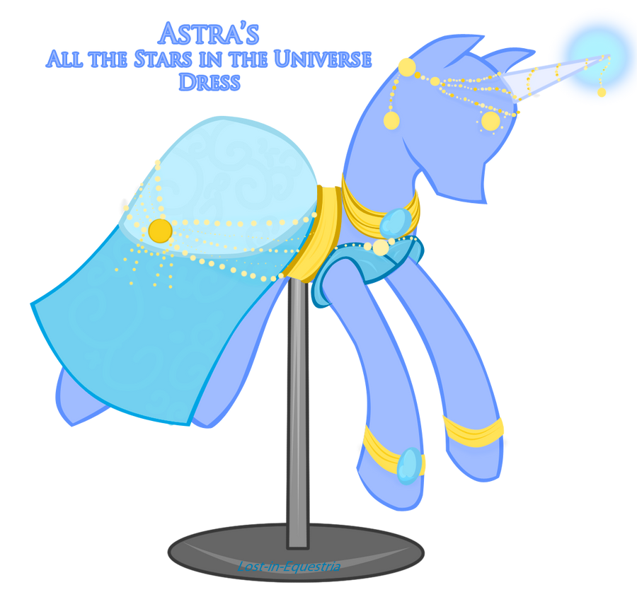 Astra's Dress All the stars in the Universe by Lost-in-Equestria