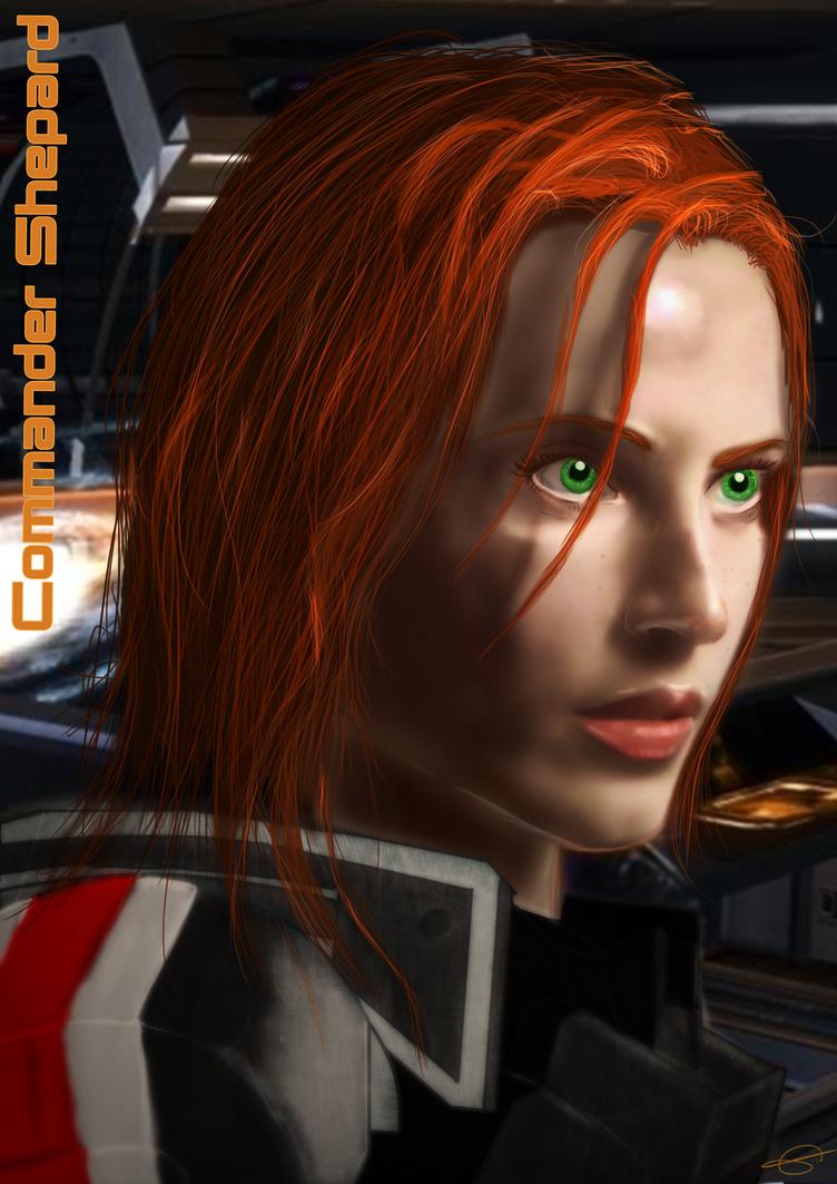 Commander Shepard by Clarisse
