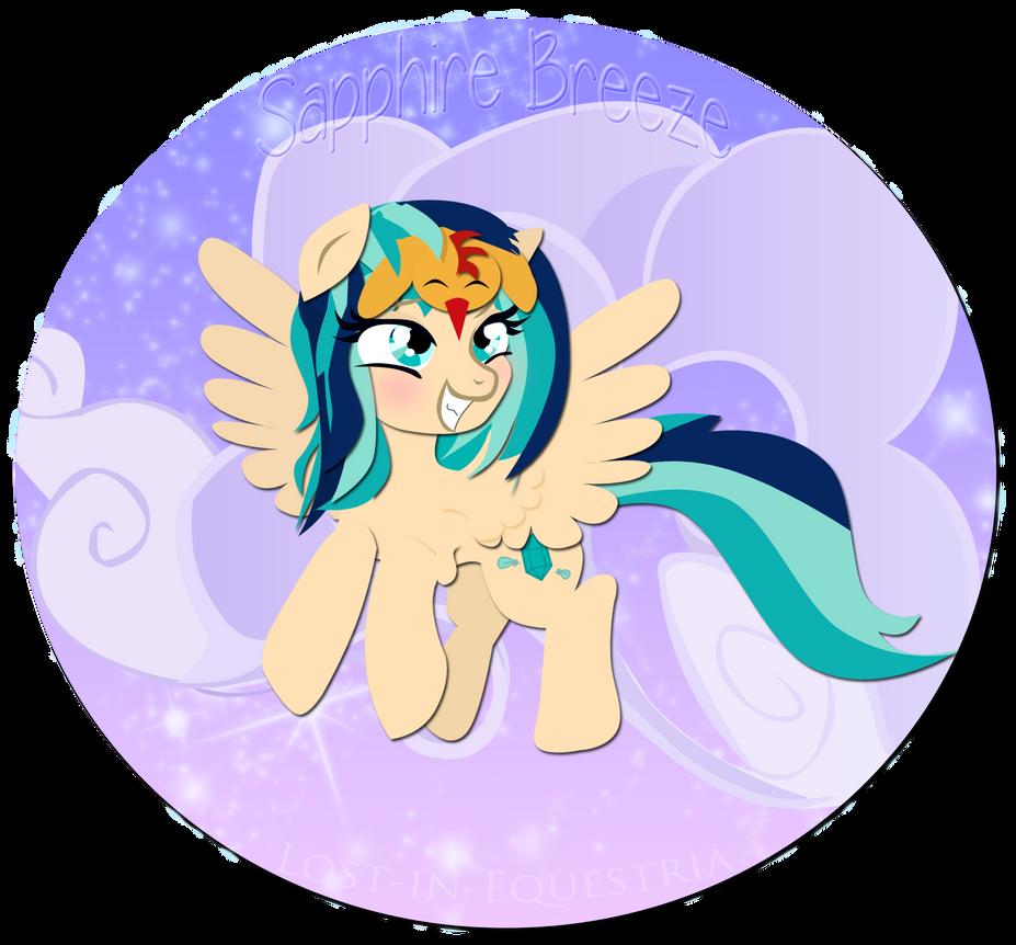 Sapphire Breeze by Lost-in-Equestria