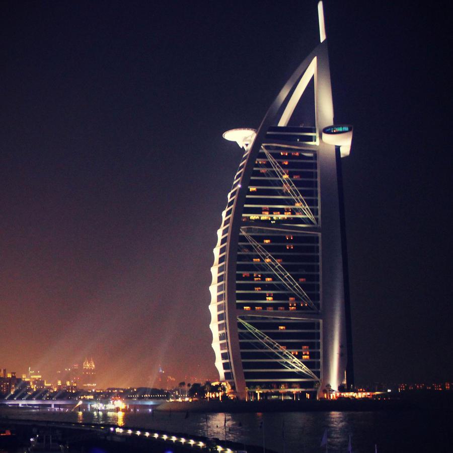 Burj Al Arab By B In On Deviantart