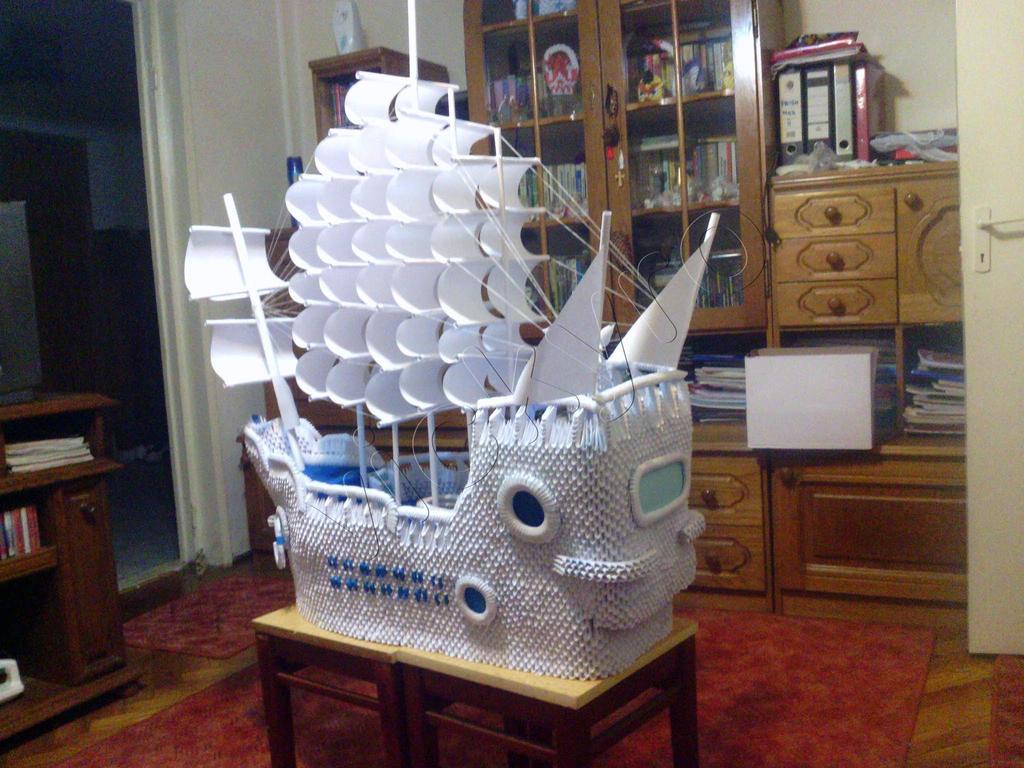 3d Ship by vickyro
