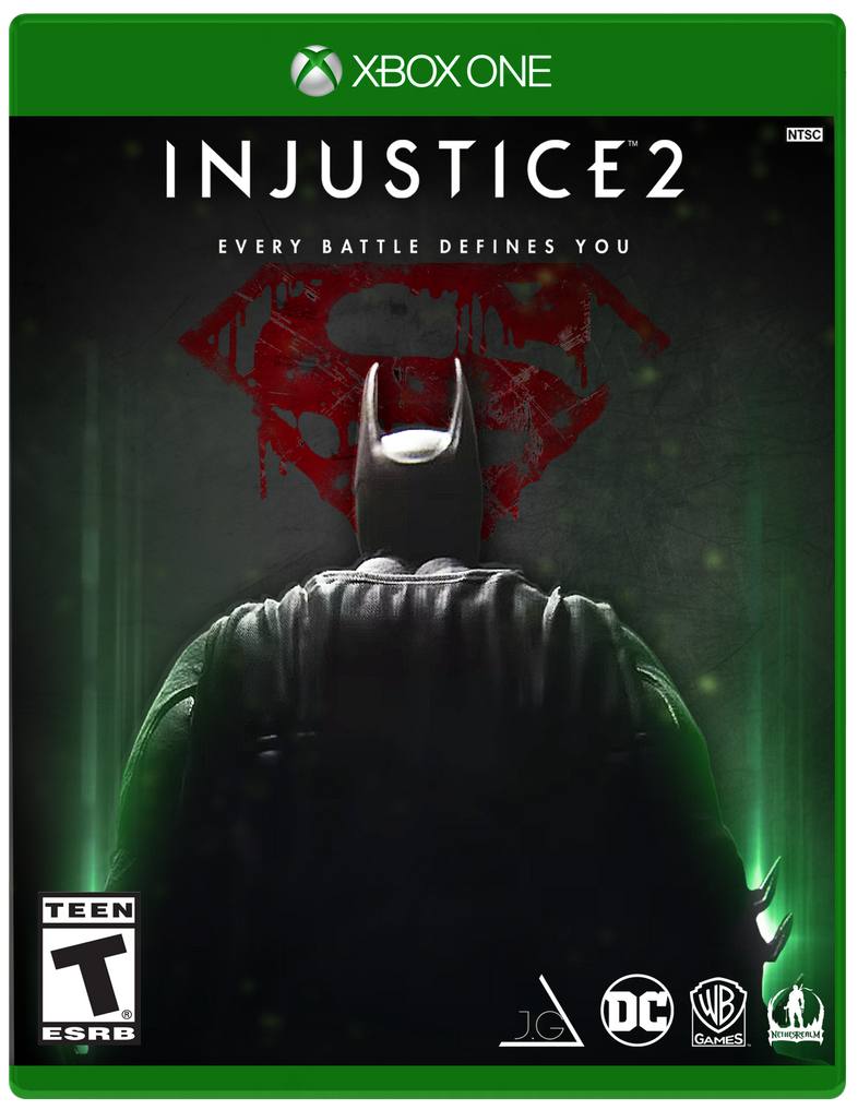 Book Cover Drawing Xbox One : Injustice cover xbox one by johngohex on deviantart