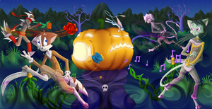 Pumpking Showdown by solo-ion