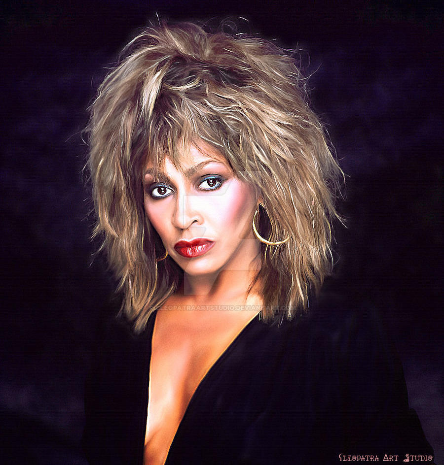 tina turner hair styles tina turner by cleopatraartstudio on deviantart 6280