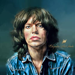 Mick Jagger by Cleopatra