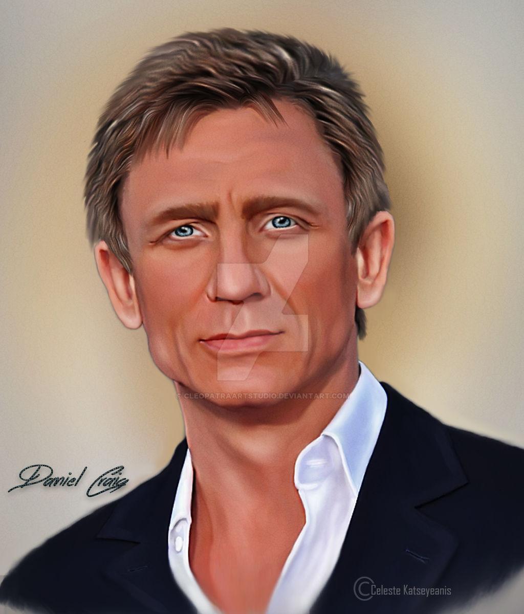 Daniel Craig by Celeste