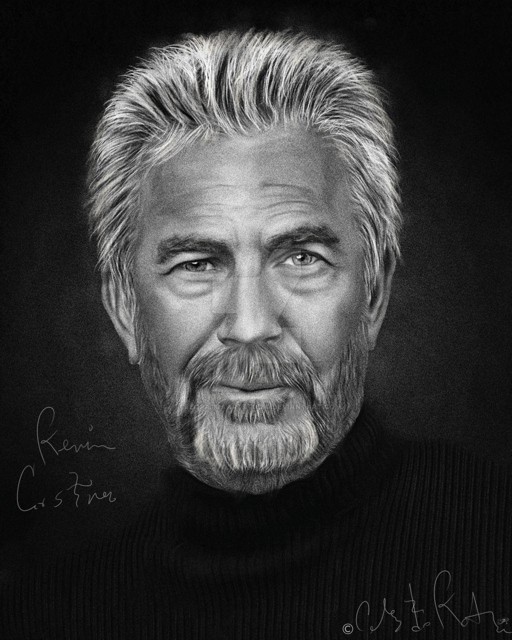 Kevin Costner by Celeste