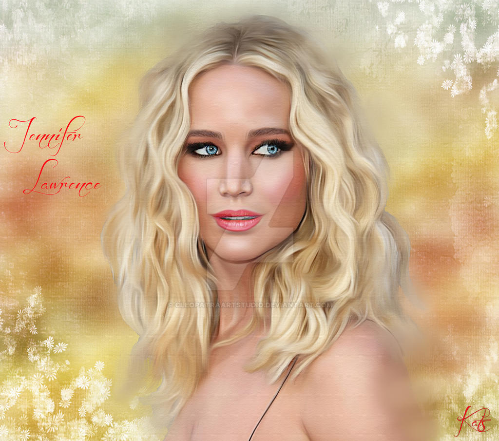 Jennifer Lawrence by Celeste