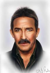Ciaran Hinds Portrait II