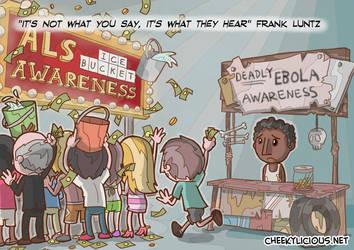 ALS vs Ebola by Cheekylicious