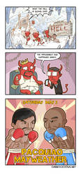 When Hell freezes over by Cheekylicious