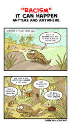 Prehistoric Racism by Cheekylicious