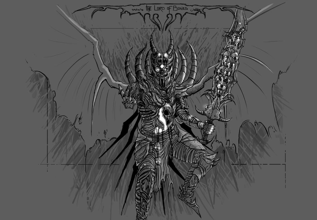 The Lord of Bones by Reponic
