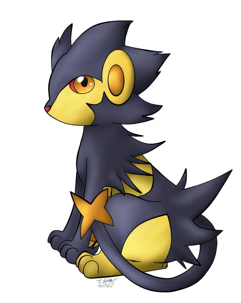 -PKMN- Lucky the Shiny Luxray by pdutogepi on DeviantArt