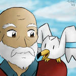 -PKMN- One Man and his Bird