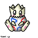 Togepi Plushie by pdutogepi
