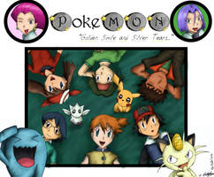 Pokemon Group - Coloured by pdutogepi