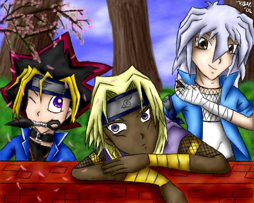 Yugioh Ninjas of the Leaf