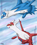 Latias and Latios for Luna
