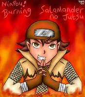 -Burning Salamader no Jutsu- by pdutogepi