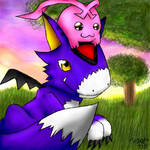 DORUmon and Tokomon X