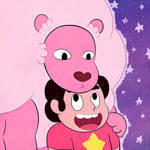 Steven and Lion by pdutogepi