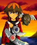 --Yu-Gi-Oh GX-- Sunset Duel