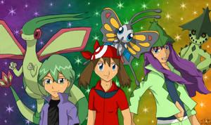--Pokemon-- Co-ordinators by pdutogepi