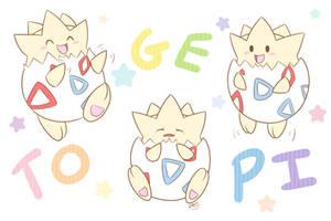 Togepi's Little Antics by pdutogepi