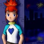 -- Digimon -- Rika - New Years