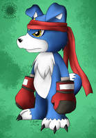 --Digimon Savers-- Gaomon by pdutogepi
