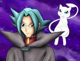 Mastermind of Mirage Pokemon by pdutogepi