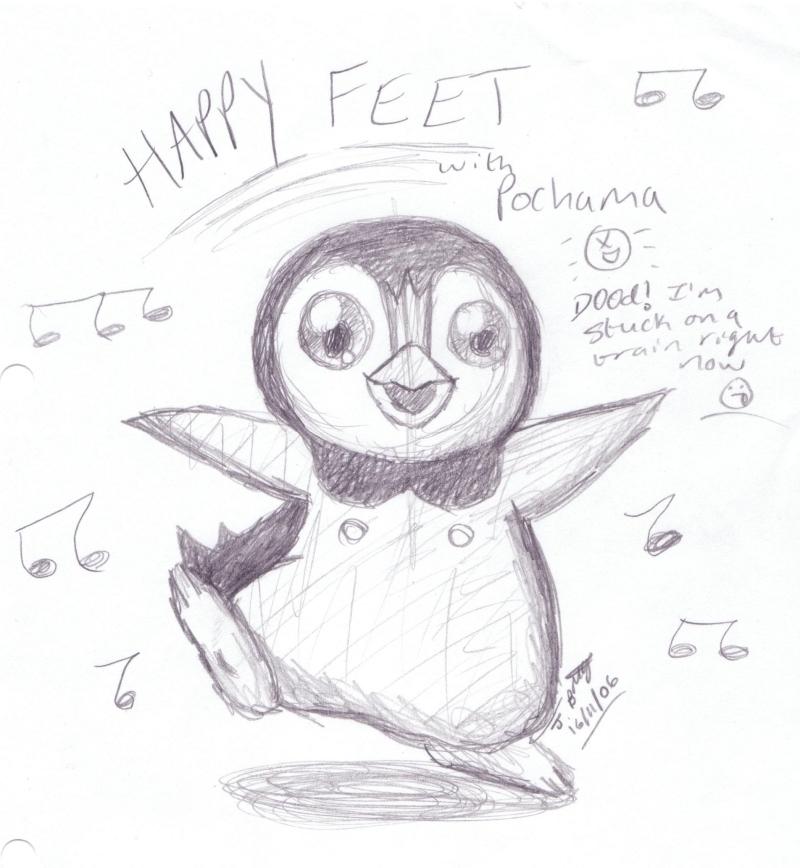 Happy Pochama Feet by pdutogepi