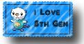 I love 5th Gen Stamp by KirinWorks