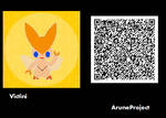 Freaky Forms Victini QR