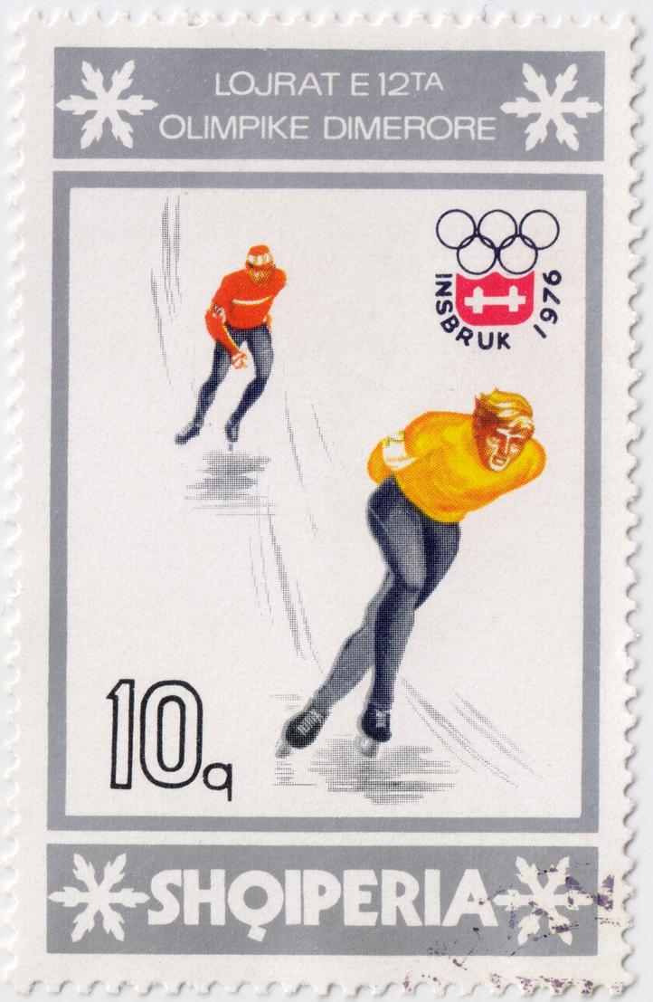 Olympics Innsbruck 1976 - Albania by polfrey